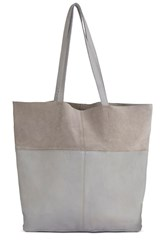 Warehouse Leather Panelled Shopper