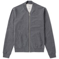 Maison Martin Margiela 14 Elbow Patch Zip Sweat Grey