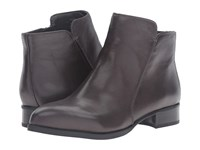 Nine West Norabel Dark Grey Leather Women's Boots Gray