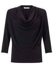 Alice By Temperley Somerset By Alice Temperley Cowl Neck Top Black