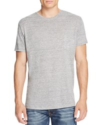 Rails Garrett Pocket Tee Heather Grey