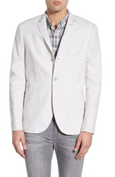 Men's Howe 'Sky' Three Button Linen And Cotton Blazer