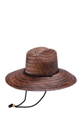 Peter Grimm Headwear Costa Straw Sun Hat Brown