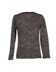 Red Collar Project Sweaters Black