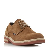 Howick Boomerang Contrast Sole Gibson Shoes Tan