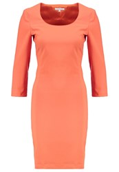 Patrizia Pepe Shift Dress Red Clay