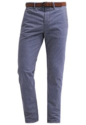 Tom Tailor Denim Chinos Indigo Blue