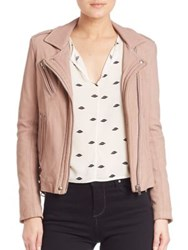 Iro Han Leather Moto Jacket Dark Khaki Wine Azur Blue Grey Pink Grey