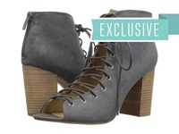 Chinese Laundry Blue Ridge Charcoal Micro Suede High Heels Gray