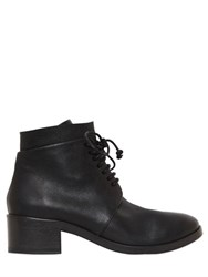 Marsell 40Mm Lace Up Leather Ankle Boots