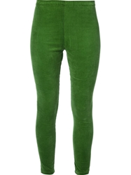 Labour Of Love Corduroy Leggings Green
