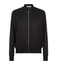 Alexander Wang T By Silk Twill Bomber Jacket Female Black