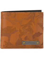 Diesel Camouflage Pattern Wallet Nude And Neutrals