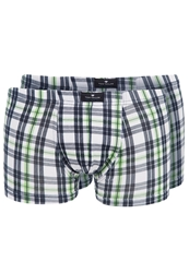 Tom Tailor California Weekend 2 Pack Shorts Shamrock Green Dark Blue