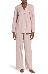 Lauren Ralph Lauren Women's Stripe Cotton Pajamas