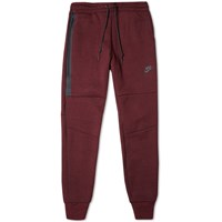 Nike Tech Fleece Pant Team Red And Black