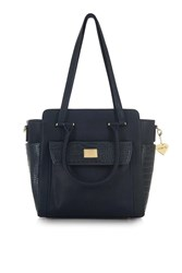 Marc B Sam Large Tote Bag By Navy Blue