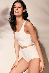 Without Walls Smock It Like It's Hot Bodysuit Ivory