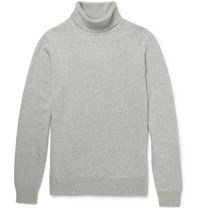 Hardy Amies Cashmere Rollneck Sweater Gray