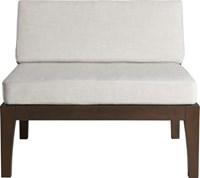 Cb2 Elba Armless Chair
