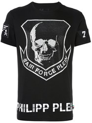 Philipp Plein 'Cape Canaveral' T Shirt Black