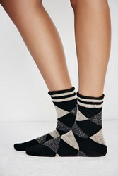 Free People Womens Imagery Argyle Sock