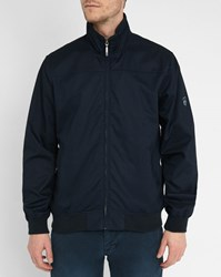 Armor Lux Navy Oxford Cotton Jacket