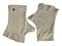 Columbia Coolhead Fingerless Gloves Fossil Extreme Cold Weather Gloves Beige