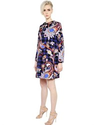 Mary Katrantzou Paisley Printed Cotton Twill Coat