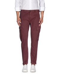 Msgm Trousers Casual Trousers Men Brick Red
