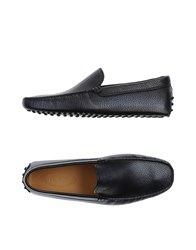 Tod's Footwear Moccasins Men Dark Blue