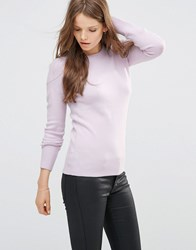 French Connection Babysoft Crew Neck Jumper In Roxy Kiss Roxy Kiss Pink