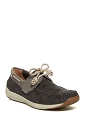 Kenneth Cole Reaction Met Ro Station Boat Shoe Gray