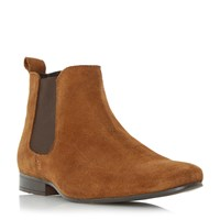 Linea Mallards Almond Toe Chelsea Boots Tan