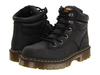 Dr. Martens Work Burnham Ns 6 Tie Boot Black Industrial Greasy Work Lace Up Boots Gray