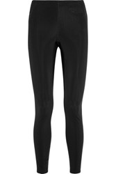 Fendi Stretch Jersey Leggings Black