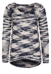 Ltb Gatsby Jumper Blue Raw White
