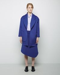 Jacquemus La Veste Oreille Mi Longue Electric Blue