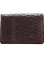 Paul Smith Embossed Cardholder Wallet Red