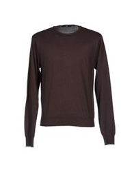 Become Sweaters Dark Brown