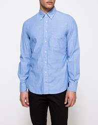 Gitman Brothers Vintage L S Blue Chambray Button Down