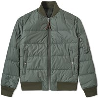 Nanamica Reversible Na 1 Down Jacket Green