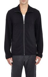 James Perse Zip Front Jacket Black Size 1 S