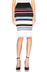 Preen Line Ockie Skirt In Stripes