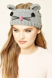 Forever 21 Mouse Headwrap Grey Multi