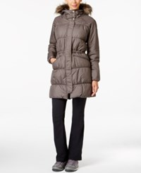 Columbia Sparks Lake Faux Fur Trim Thermal Coil Puffer Parka Mineshaft