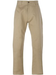 E. Tautz Chino Trousers Green
