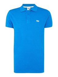 Helly Hansen Men's Transat Polo T Shirt Blue