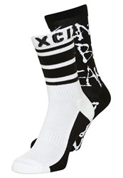 Brooklyn's Own By Rocawear 2 Pack Knee High Socks White Black