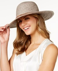 Bcbgeneration Feather Chain Floppy Hat Taupe